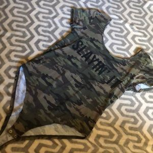 Army bodysuit